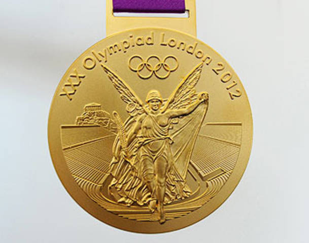 The London Olympic Gold Medals - are they really gold?
